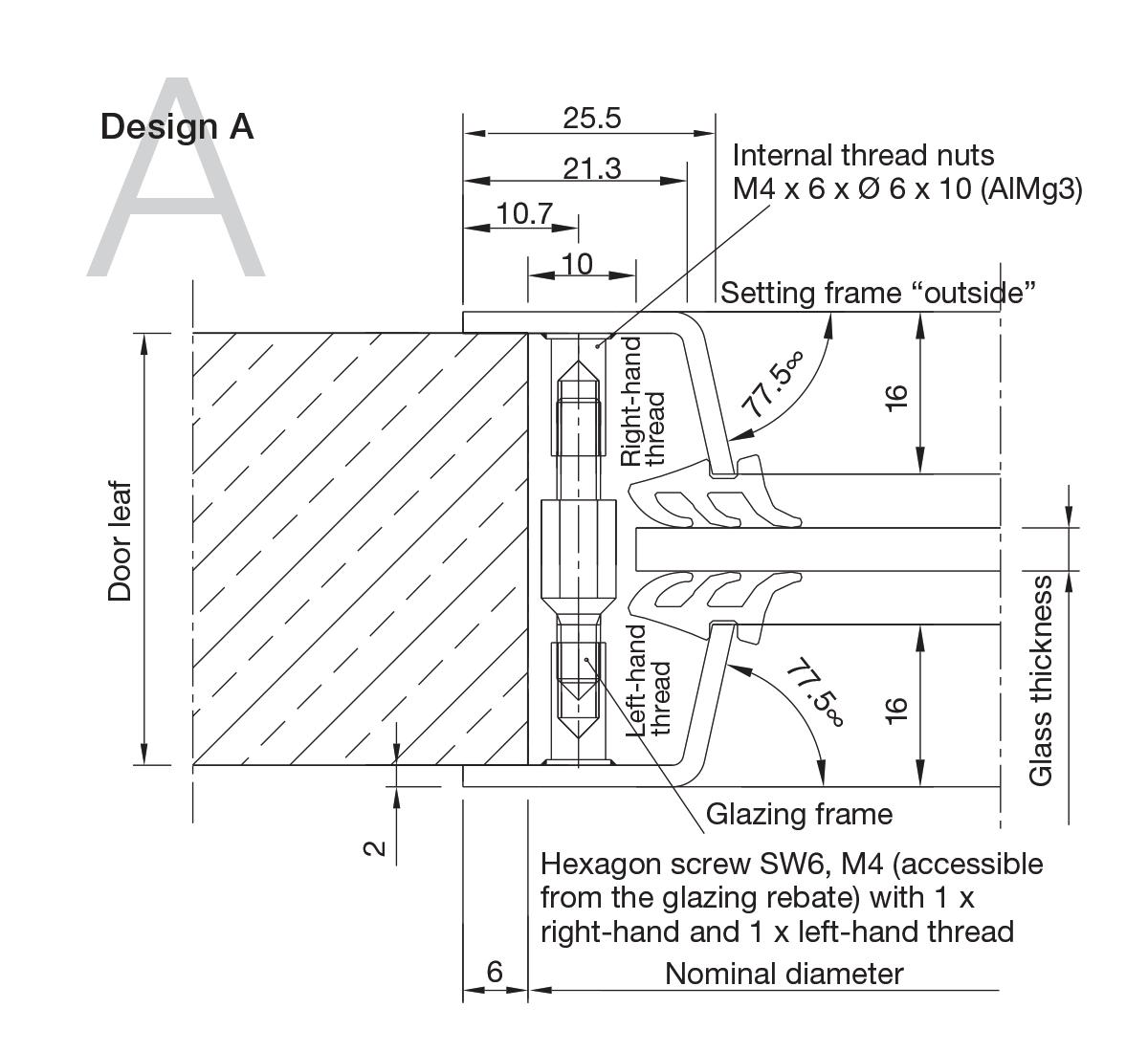 Aluminium Portholes Design A