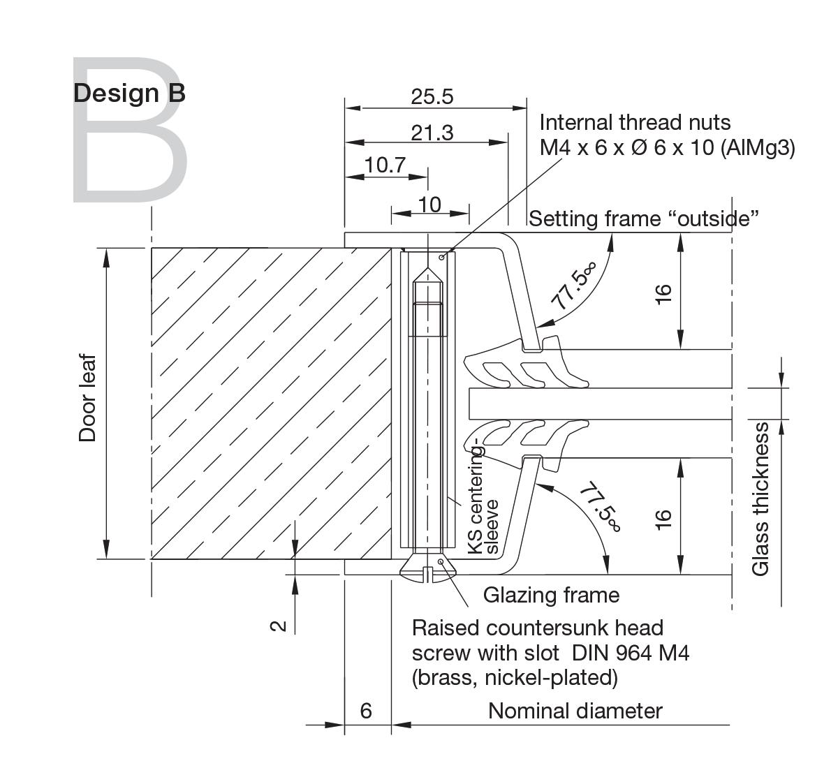 Aluminium Portholes Design B
