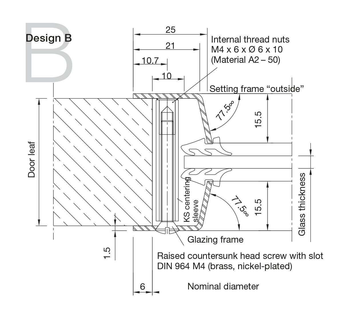 Stainless Steel Portholes Design B